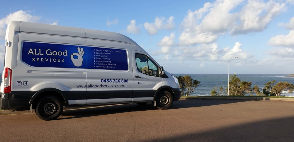 All Good Services Sunshine Coast Van